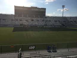 Spectrum Stadium Seating Chart Ucf Spectrum Stadium Section 130 Rateyourseats Com