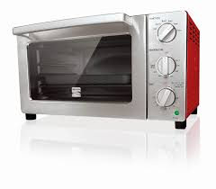 kenmore  slice convection toaster oven  red