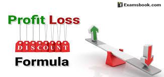 Profit Loss Formula Profit Loss And Discount Formula For Ssc And Bank Exams