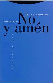 The leading authority on human death since 2021. Amazon Fr No Y Amen Ranke Heinemann Uta Livres