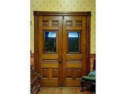 Painted Double Front Door
