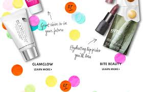 image of glamglow and bite beauty glamglow learn more or bite beauty learn