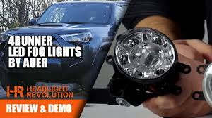 4runner Led Fog Lights 4runner Led Fog Lights From Auer Automotive Headlight