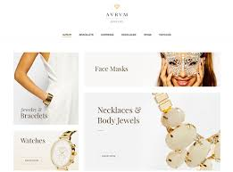 simple jewelry wordpress themes for fashion and emerce s 2018
