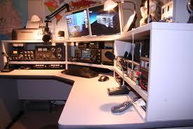 Amateur ham radio shack pictures