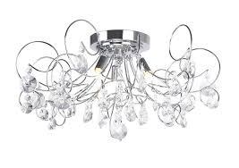 bhs lighting chandeliers chrome crystal swirl ceiling light chandeliers on uk