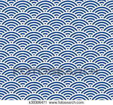 Japanese Wave Pattern Gorgeous Clipart Of Japanese Wave Pattern K48 Search Clip Art