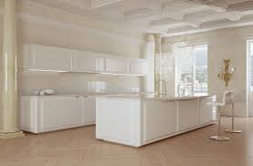All White Kitchen This Modern Kitchen Space Was Converted From A Separate Kitchen