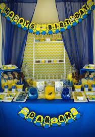 20 cute minions birthday party ideas