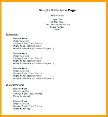 Reference Page For Resume Adorable Examples Of Reference Page For Resume Resume With References Resume