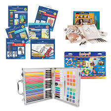 kids sets for drawing painting and learning art