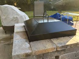 metal fire pit cover. Fire Pit:Direct Custom Pit Covers Firepit Hearth Patio With Metal Cover