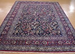 safavieh savannah vintage oriental navy blue rug 7 x antique tribal hand knotted wool red