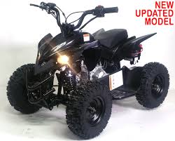 gas sport atv quad with electric start throttle limiter w 58cc