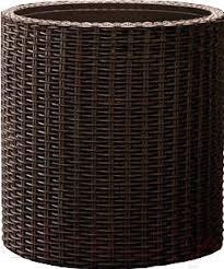 <b>Кашпо Keter Cylinder Planter</b> L / 223947, цена 67.20 руб., купить в ...