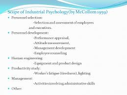 industrial psychology psychology industry industrial psychology ppt download
