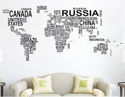 removable creative custom vinyl wall art ideas custom world map monochrome peel stick home canada united on custom vinyl wall art canada with wall art lastest idea custom vinyl wall art vinyl signs custom