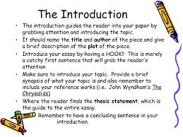 How To Write An Introduction For A Persuasive Research Paper