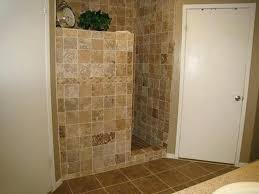 walk in shower without door astounding tile showers glass block small bathrooms