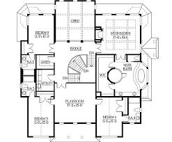 master suite floor plans. Brilliant Plans Luxurious Master Suite With Unique Bathroom  23186JD Floor Plan 2nd Floor For Plans O