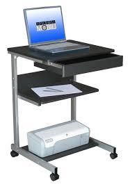 com techni mobili modus metal computer student laptop desk in graphite kitchen dining