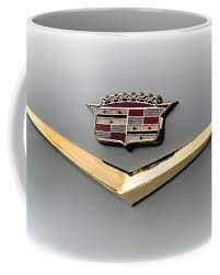 Cadillac coffee mug 11oz ceramic ats suv gm cadihome & garden, kitchen, dining & bar, dinnerware & serveware! Gold Badge Cadillac Coffee Mug For Sale By Douglas Pittman