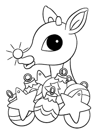 Small Picture 25 Rudolph The Red Nosed Reindeer Coloring Pages ColoringStar