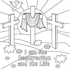 Coloring Pages Free Printable Easter Related Post Christian Easter
