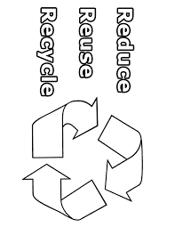 Going Green Coloring Page - Reduce, Reuse, Recycle - Going Green ...
