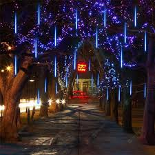 Diy Meteor Shower Lights Supli Led Meteor Shower Lights For Holiday Decoration In