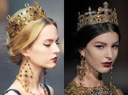 รวมทรงผม เครองประดบ สวยดจเจาหญง By Dolce Gabbana