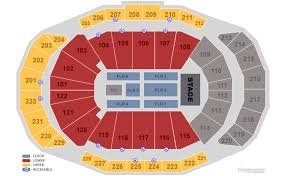 Sprint Center Detailed Seating Chart Trans Siberian Orchestra