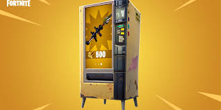 How Much To Buy A Vending Machine Enchanting What Are Fortnite Battle Royale's New Vending Machines All About