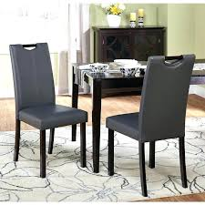 faux leather parsons dining room chairs faux leather parsons dining room chairs simple living grey leatherette