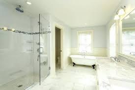 Carrara Marble Wall Tile Cape May Marble Bathroom With Glass Shower Gorgeous Carrara Marble Bathroom Designs