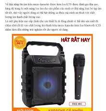 TẶNG MIC] loa bluetooth karaoke mini giá rẻ loa keo loa kẹo kéo mini  bluetooth loa