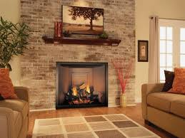 inspirational brick electric fireplace tsumi interior design