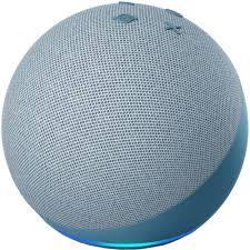 Smart Speakers Echo Dot 4 Smart Speaker With Alexa Blue 48988 ...