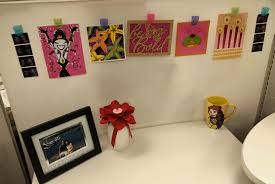 office cubicle walls. Jessica\u0027s Cubicle -- Hang Cards To Help Brighten Up Your Walls! Check The Full Post For Awesome And Appropriate Décor Ideas! Office Walls R