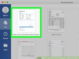 microsoft templares 6 ways to use document templates in microsoft word wikihow