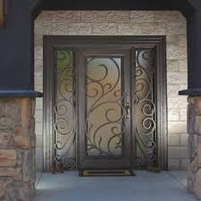 metal front doorsIron Entry Doors  Wrought Iron Doors  Steel Door  Phoenix