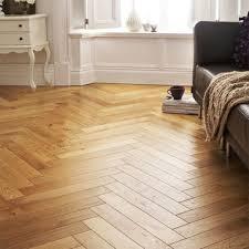 solid oak herringbone parquet flooring