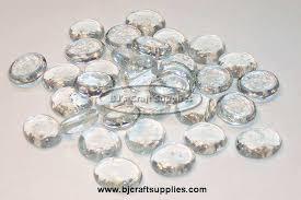 flat glass gems clear er flat glass gems vase filler