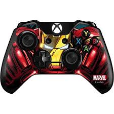 Disney infinity 3.0 hulkbuster iron man nfc figure ps3 ps4 xbox one 360 wii u. Amazon Com Skinit Decal Gaming Skin Compatible With Xbox One Controller Officially Licensed Marvel Disney Ironman Close Up Design Computers Accessories