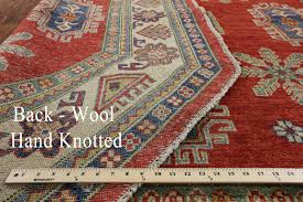 energy hand knotted rug 7 octagon super kazak wool