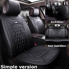 us fit for nissan altima car suv microfiber leather seat cover set sentra rogue