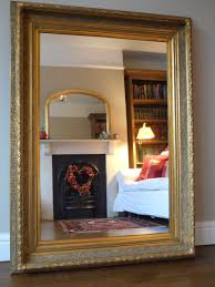 Large Bedroom Mirrors Antique Style Large Gilt Frame Wall Mirror By Consort Pictures And
