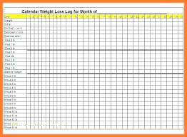 Weight Loss Record Sheet Daily Food Record Chart Ringrepair Co