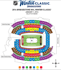 Winter Classic Seating Chart At Gillette With Package Level