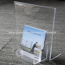 Acrylic Flyer Display Stand China Acrylic Brochure Display Stand From Dongguan Manufacturer 60
